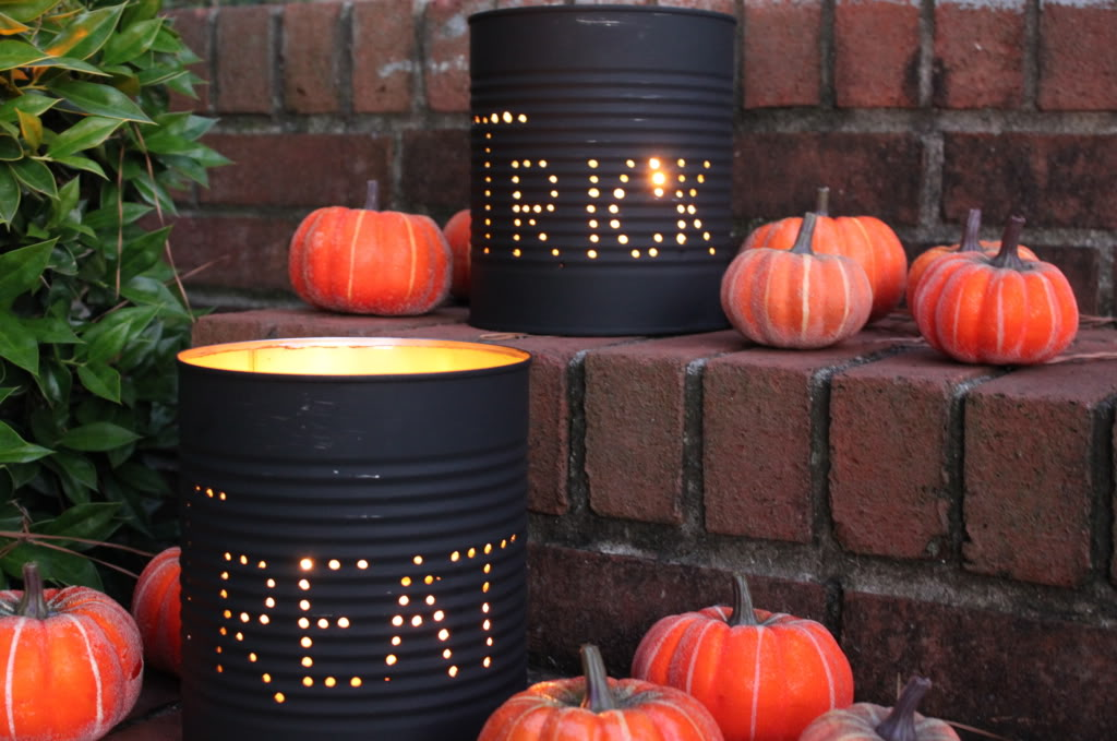 luminaries2 - Best Homemade Halloween Decorations