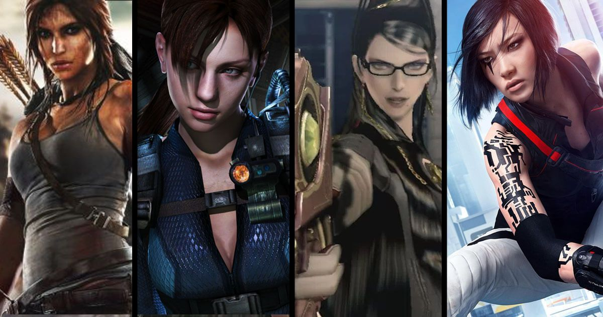 Top 10 BEST Video games with Female Lead Characters - The ...